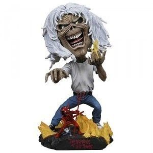 Iron Maiden Number of the Beast Eddie 20cm Head Knocker Bobble