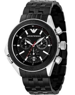 Armani AR0547 Herrenuhr, Sport Chronograph   black Chrono Watch