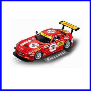 CARRERA DIGITAL 132 Mercedes Benz SLS AMG GT3 Blackfalcon No.35 24h