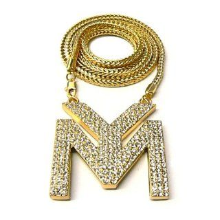 LILWAYNE DRAKE NICKI Young Money Kette Anh?nger New Gold