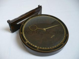RARE ELEGANT ART DECO KIENZLE TABLE CLOCK HEINRICH MÖLLER WITH