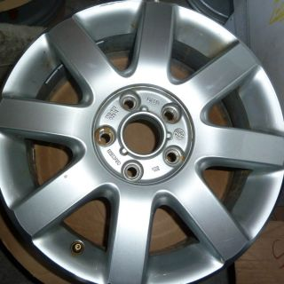 ORIGINAL VW Golf V VI Touran Caddy A3 6x16 ALUFELGEN 5x112 GOLF 5 6