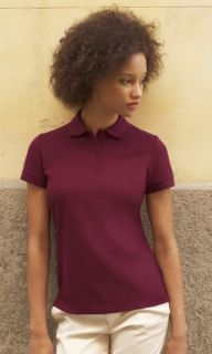 Fruit Of The Loom Damen Polo Shirt Mischgewebe