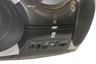 Boombox mit DVD DVB T 7 Zoll Display CD  Player Radio USB SD Card