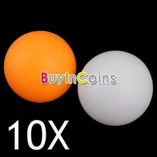 10X Ping Pong Balls Train Table Tennis Sports Games New