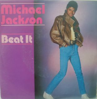 1982 KULT  MICHAEL JACKSON  Beat It // MINT ?