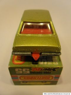 Matchbox ★ Superfast ★ # 55 FORD CORTINA / VITRINENMODELL