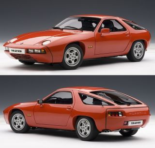 AUTOART 77905 118 GAURD RED PORSCHE 928 DIECAST MODEL CAR