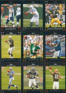 2007 Topps Football Complete Mint Hand Collated 440 Card