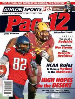 Athlon Sports 2011 College Football Pac 12 Preview