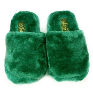 Cushion Indoor Outdoor Non Slip Sole Slippers Green L 9 10 Shoes