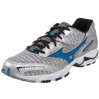 Mens Wave Precision 10 Running Shoe,Silver/Methyl Blue,12.5 D Shoes