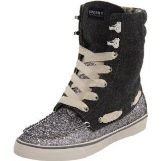 Sperry Top Sider Womens Acklin Boot,Charcoal Glitter,11 M US Shoes
