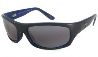 Maui Jim 261 11D Grey Black Stripe Surf Rider Wrap