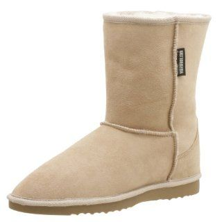 Kangaroo Classic Short Sheepskin Boot,Sand,14 Men/15 Women Shoes