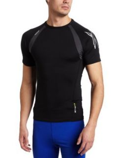 Hind Mens Compression Fit Crew Neck Short Sleeve Top