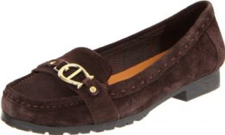 Etienne Aigner Womens Hank Loafer,Chocolate,5.5 M US Shoes