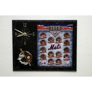 2008 New York Mets Baseball Picture Clock