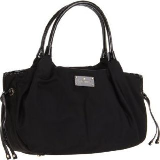 New York Kate Spade Nylon Stevie Shoulder Bag,Black,One Size Shoes