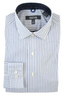 Kenneth Cole Reaction Mens Slim Fit Stretch Dress Shirt
