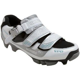 America SH WM80 Mountain Bike Shoe   Womens Pearl White, 39.0 Shoes