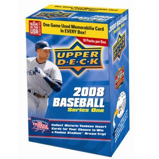 2008 Upper Deck Series 1 Baseball Trading Cards