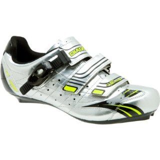Aerospeed Comp Cycling Shoe   Mens Silver/Black/Yellow, 47.0 Shoes