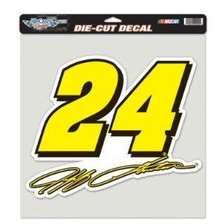 Jeff Gordon NASCAR Official 12x12 Die Cut Car Decal