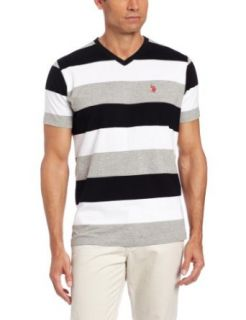 U.S. Polo Assn. Mens Striped T shirt Clothing