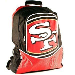 16   NFL Football   San Francisco 49ers Backpack Sports