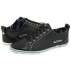 Unltd by Marc Ecko Ricardson Black Leather/ Teal trim Athletic