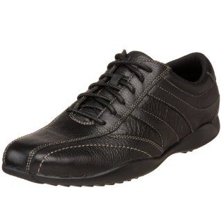 Rockport Mens Attimel Oxford,Black/Black,7 M US Shoes