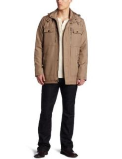 Kenneth Cole Reaction Mens Coated Ottoman Walker Jacket