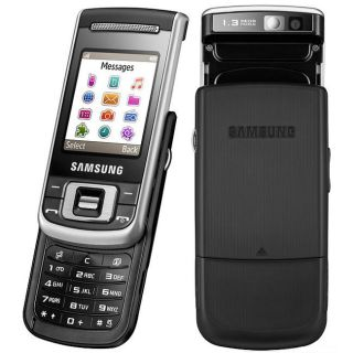 Samsung C3110 Black/ Silver GSM Unlocked Cell Phone