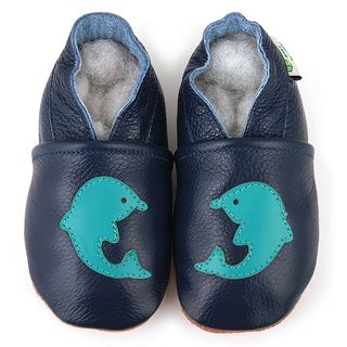 Dolphin Soft Sole Leather Baby Shoes