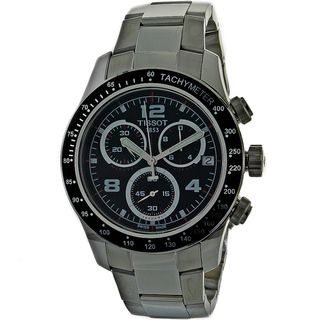 Tissot Mens V8 Chronograph Stainless Steel Watch