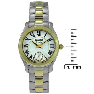 Seiko Ladies Premier Stainless Steel Watch