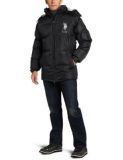 U.S. Polo Assn. Mens Signature Bubble Jacket Clothing
