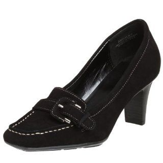 AK Anne Klein Womens Haley Pump,Black,10.5 M US Shoes