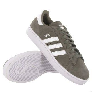 Adidas Campus II Grey White Suede Mens Trainers Shoes