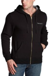 Timberland Mens Hooded Sweatshirt,Black,Small Clothing