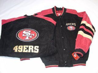 San Francisco 49ers NFL G III Leather Suede Jacket, X