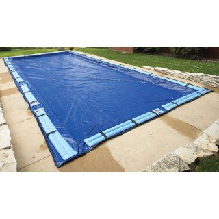 Swim Time Rectangle Winter Pool Cover (16 x 32)