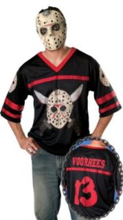 Friday The 13Th, Jason Hockey Jersey And Mask Clothing