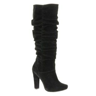 com ALDO Ballentine   Women Knee high Boots   Black Suede   6 Shoes