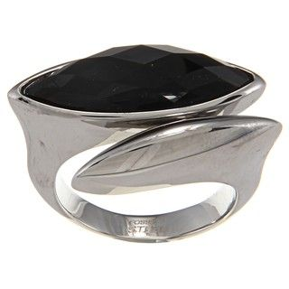 Fossil Jewelry Womens Stainless Steel Ring