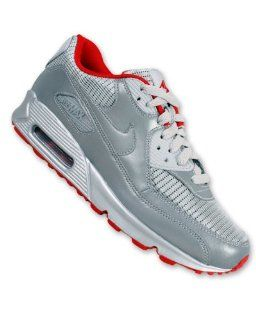 Nike Trainers Shoes Mens Air Max 90 Silver Shoes