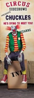 Chuckles the Clown Animated Halloween Prop Clothing