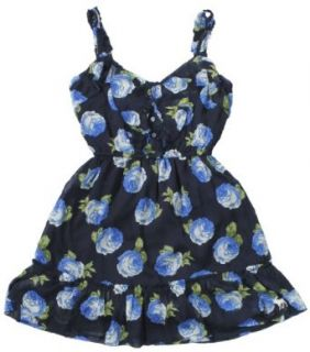 Abercrombie & Fitch Womens Janna Chiffon Floral Dress