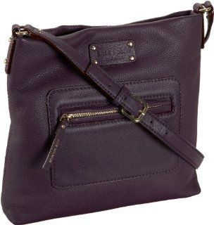 Kate Spade Darien Seasonal Jan Cross Body,Eggplant,one size Shoes